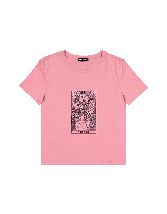 Pink Astro Print T-Shirt