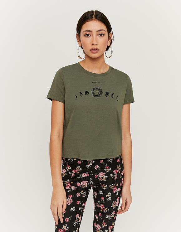 T-Shirt Vert Imprimé Astro