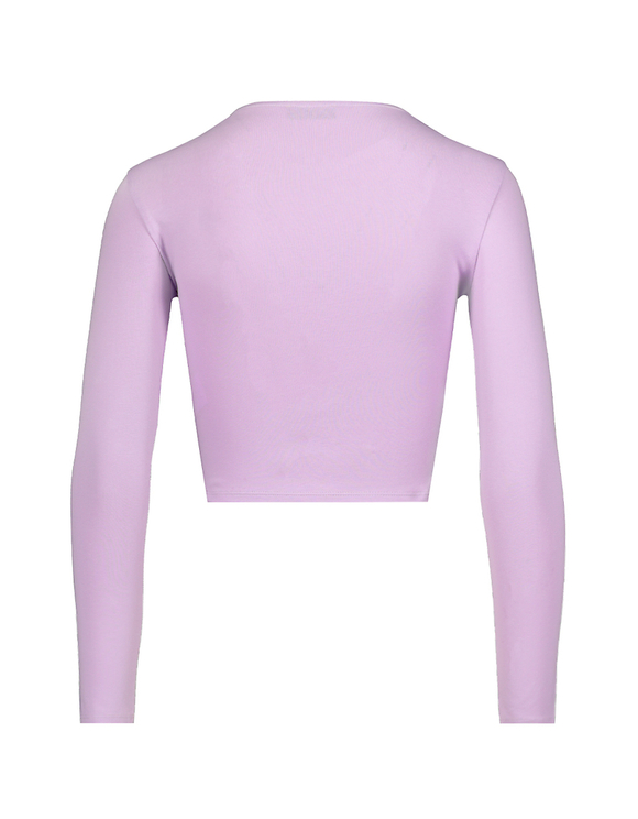 Lilac Top with Cut Out