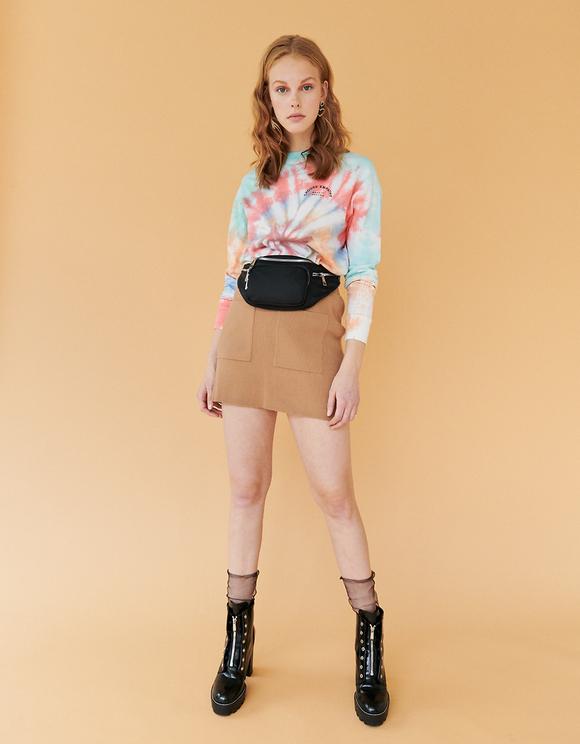 Multicolor Tie & Dye Top