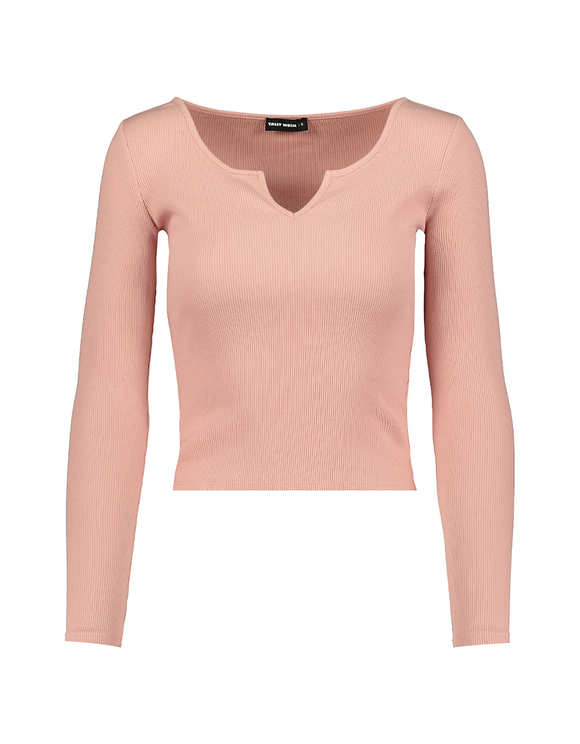 Top Rose Col en V