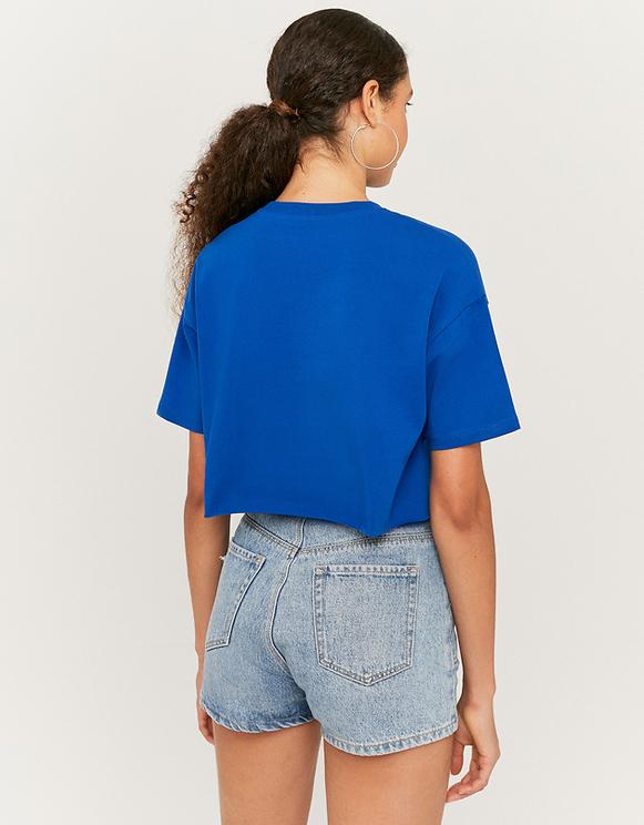Blue Printed Top