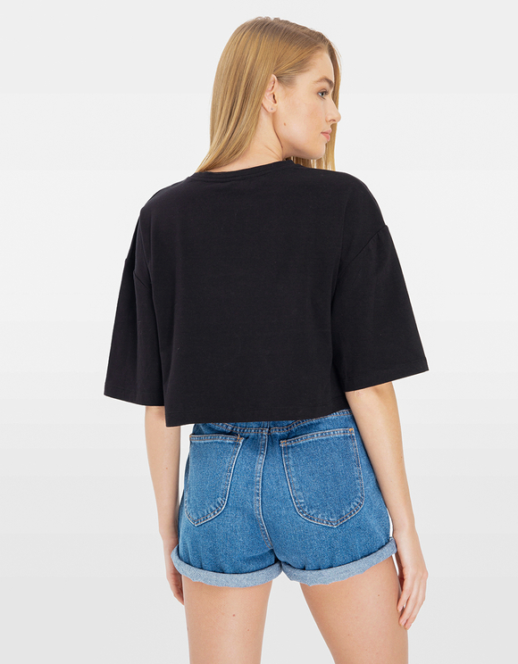 Black Loose Top