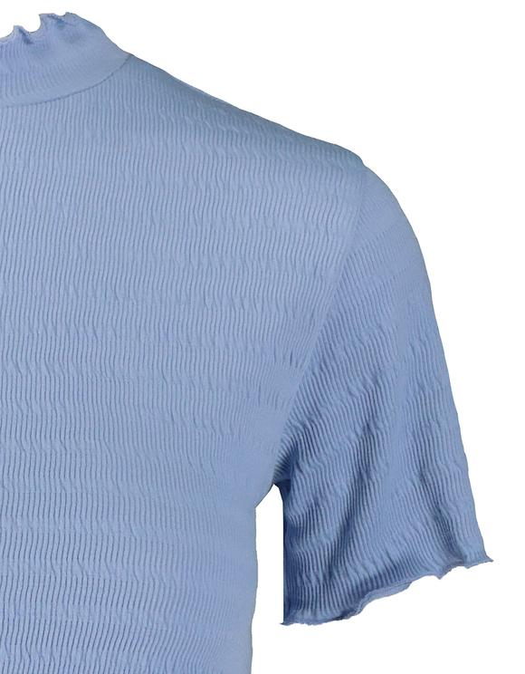 Blue Smock Top