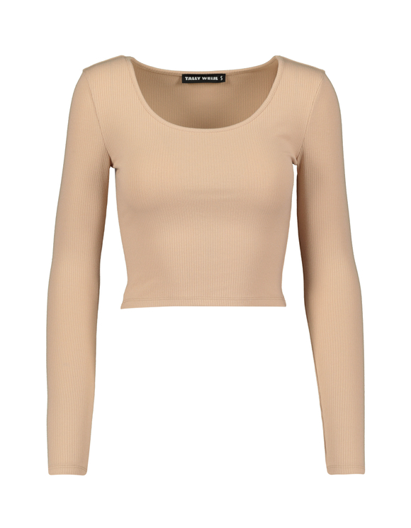 Crop Top Beige