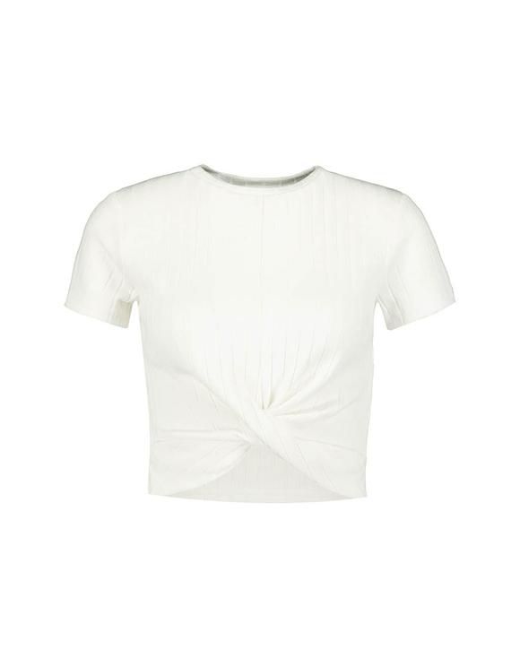 Top Blanc Twisté