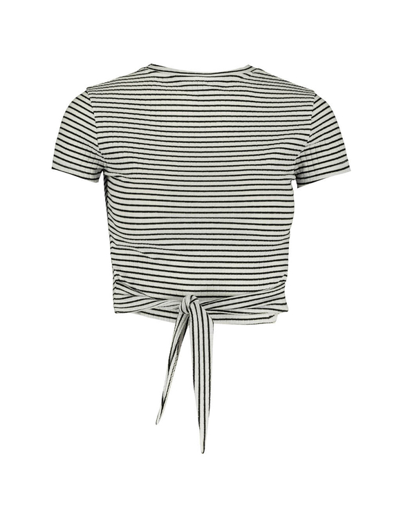 Striped Top to Tie