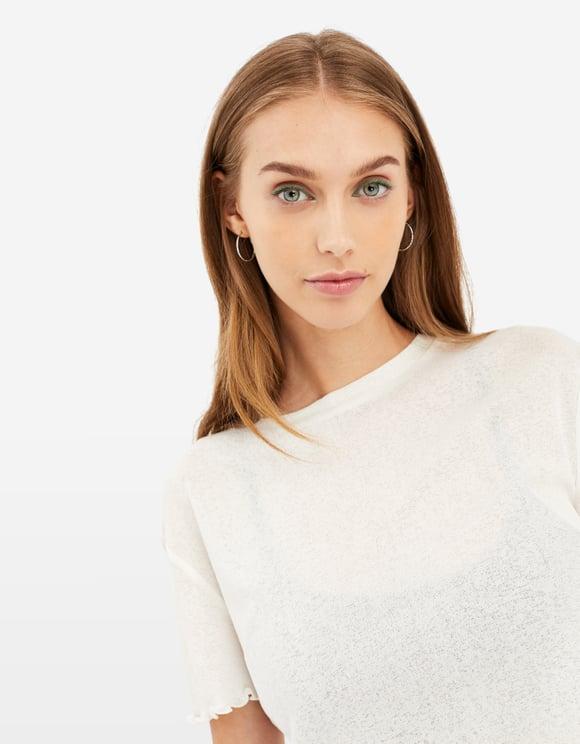 Top Blanc Léger