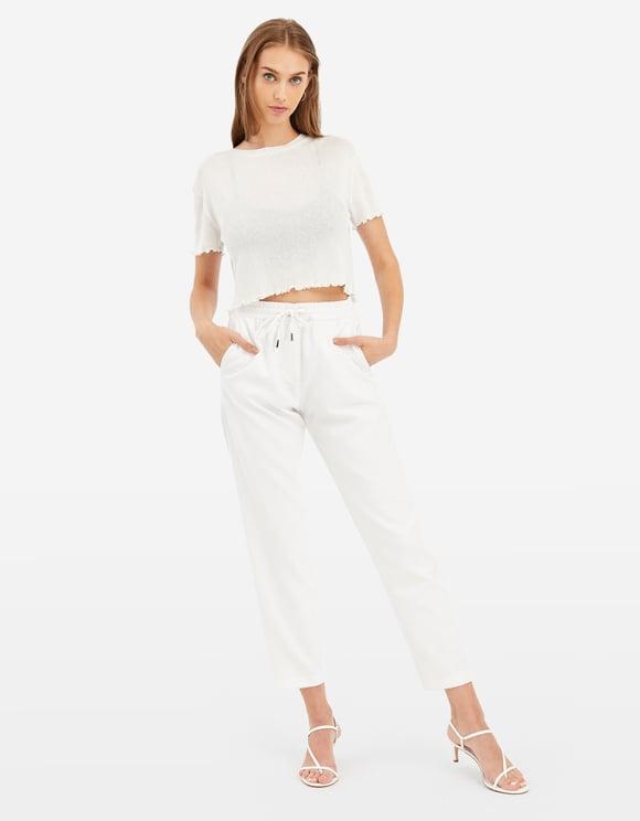 White Lightweight Top