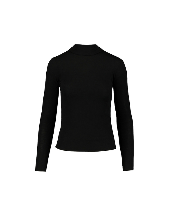 Black Light Wool Top