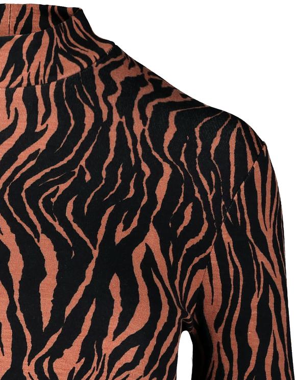 Top mit Zebra-Muster