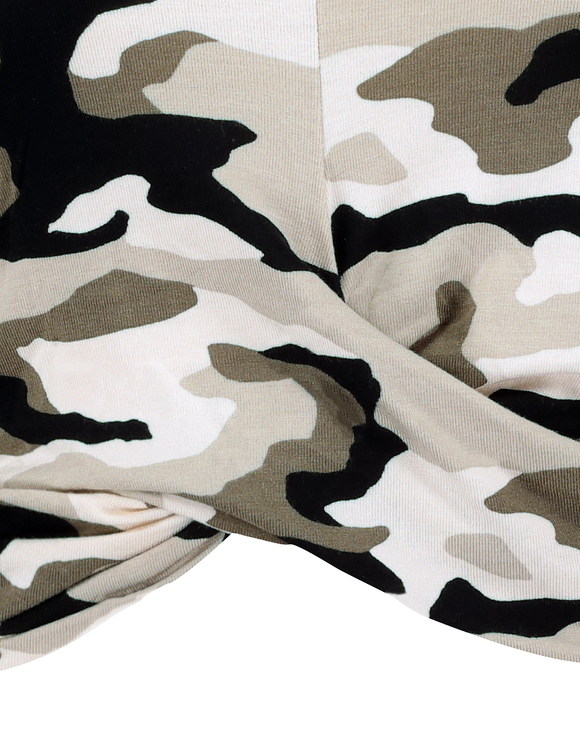 Camouflage Printed Top