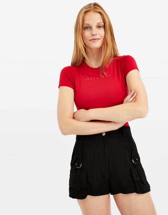 Red Bodysuit