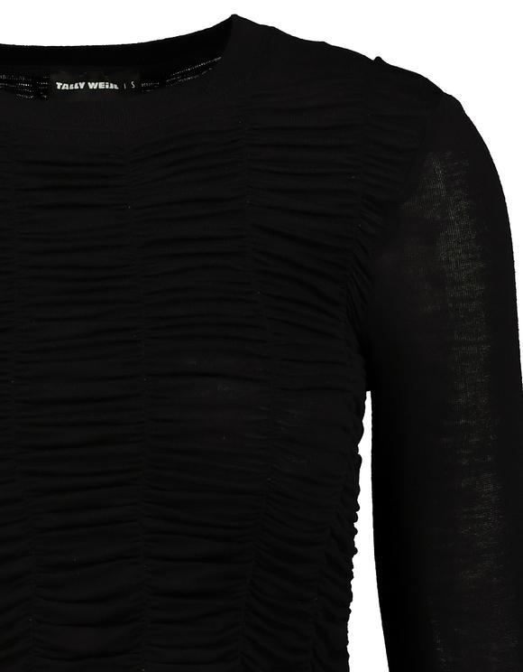 Black Stretch Top