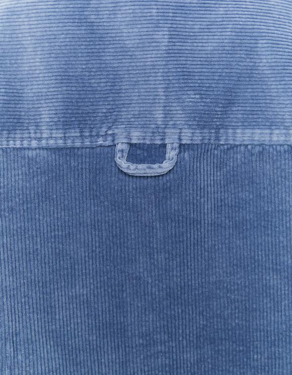 Blue Corduroy Shacket