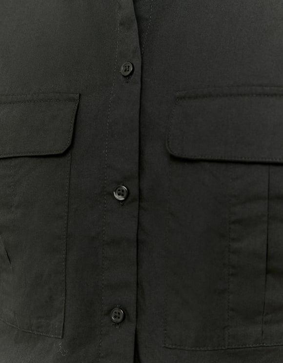 Chemise Boutonnée Noire