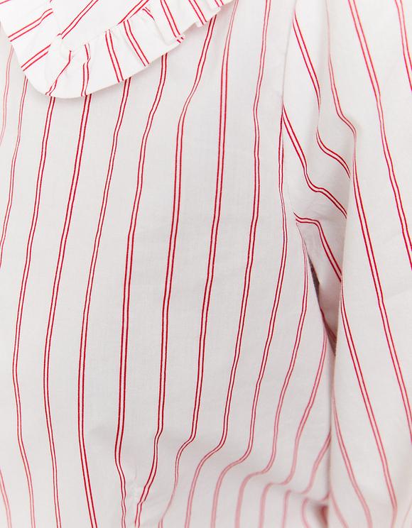 Weißes romantisches Hemd