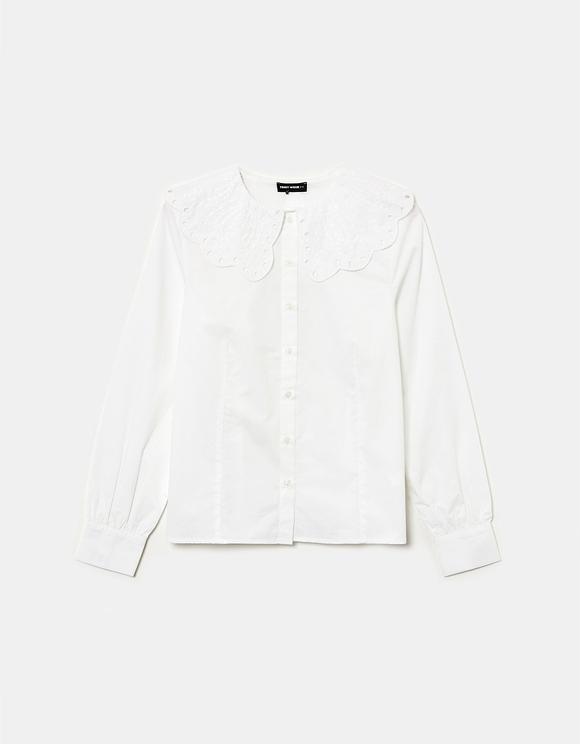 White Romantic Shirt
