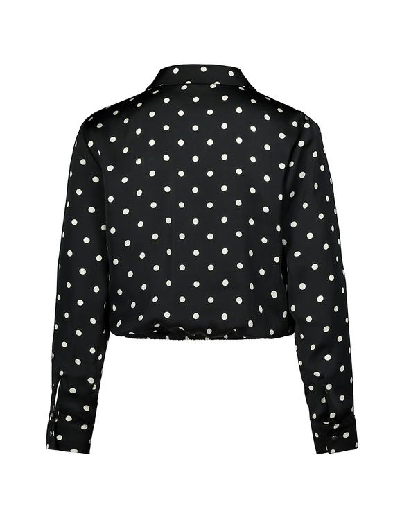 Kurze Bluse mit Aufdruck