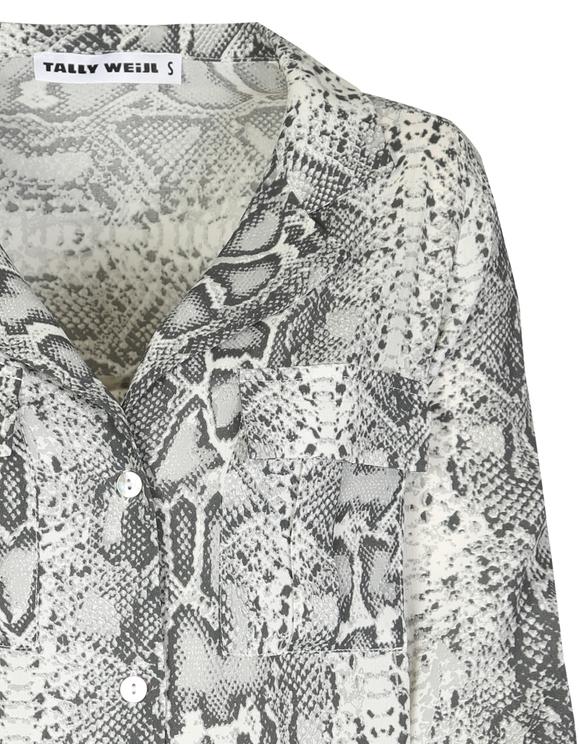 Grey Snake Shirt