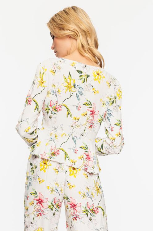 Floral Bolero
