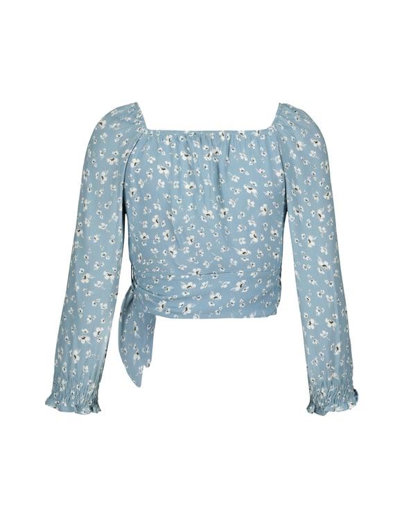 Blouse Kimono Imprimée