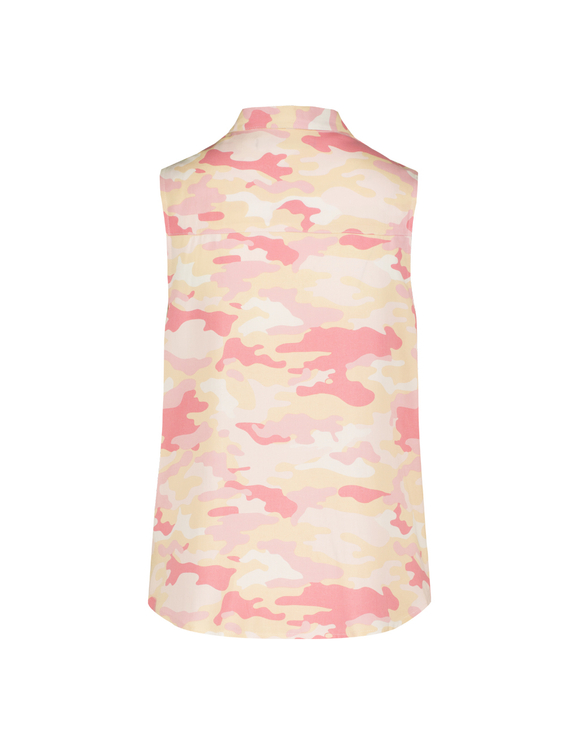 Rose, Camouflage Bluse