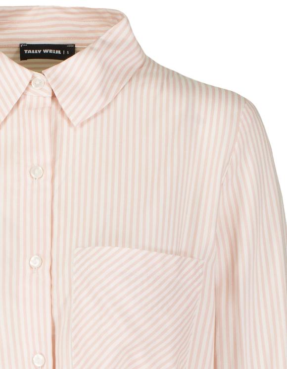 Chemise Nouée à Rayures