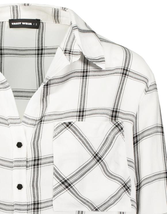 Chemise à Carreaux & Lien de Serrage