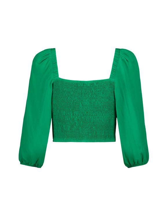 Chemise Courte Verte