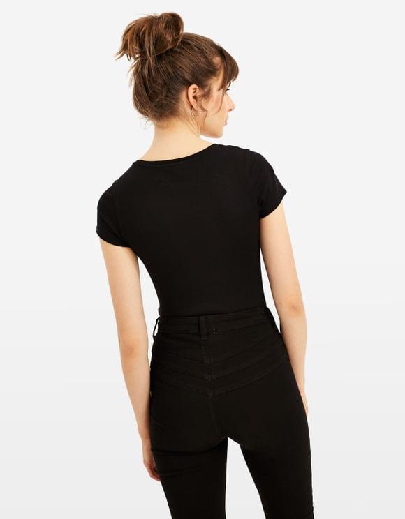 Czarny t-shirt Basic
