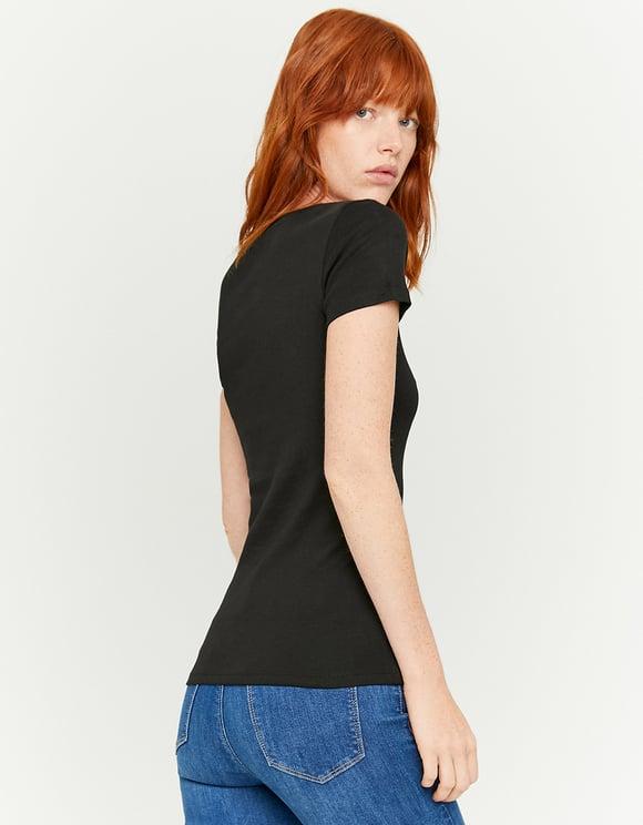 T-Shirt Noir Basique