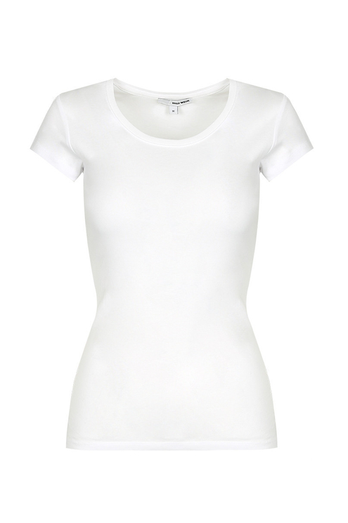 Biały T-shirt Basic