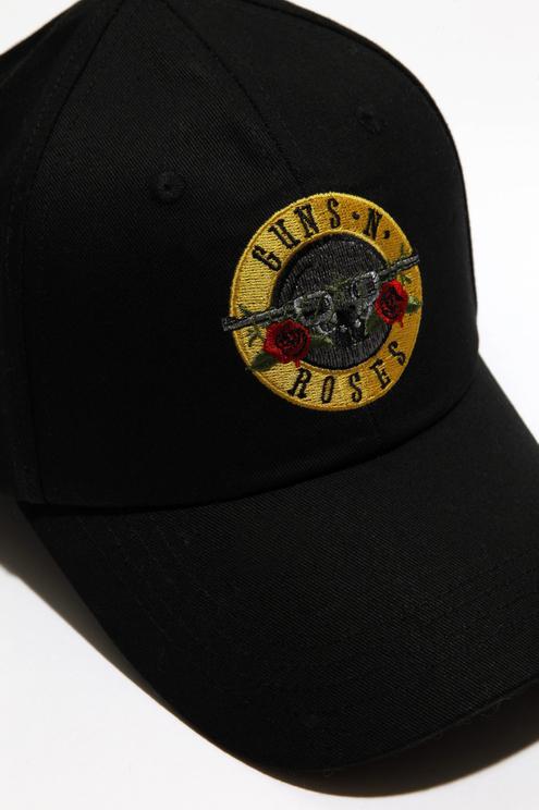 Schwarzes Basecap