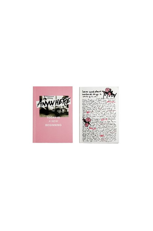 2 Notebooks with Printed Front