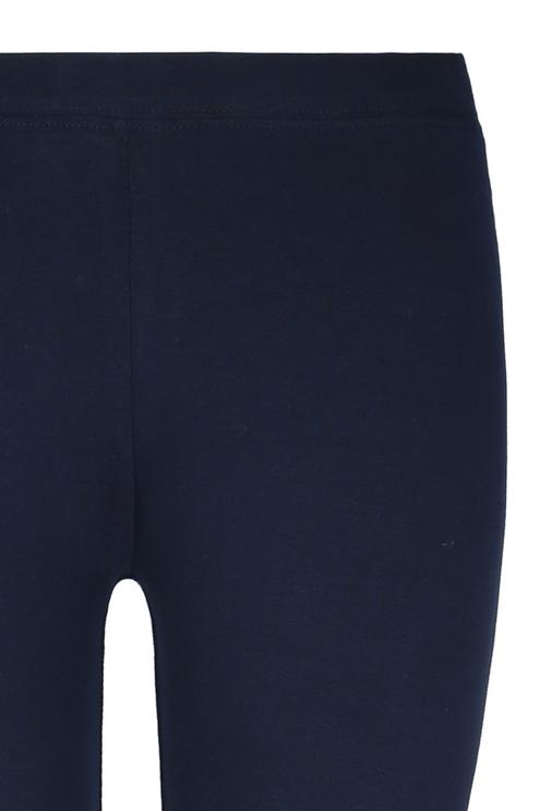 Navy Blue Basic Leggings