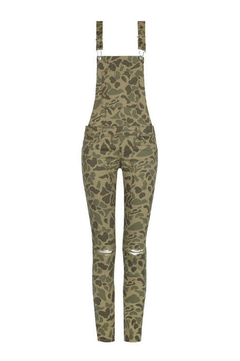 Camouflage Dungaree