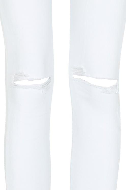 Pantalon Skinny Taille Haute Déchiré
