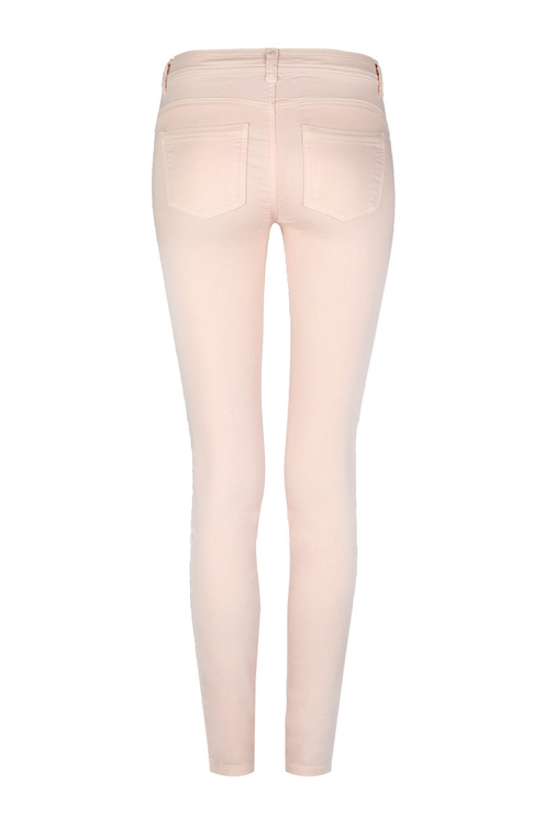Light Pink Skinny Trousers