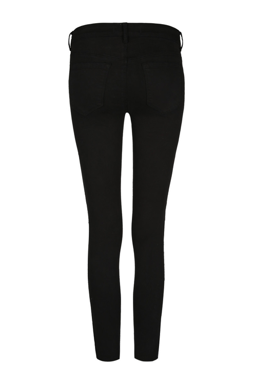 Black Skinny Trousers with Sequins