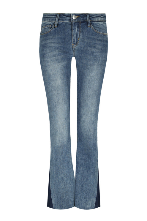 Blue Flare Jeans