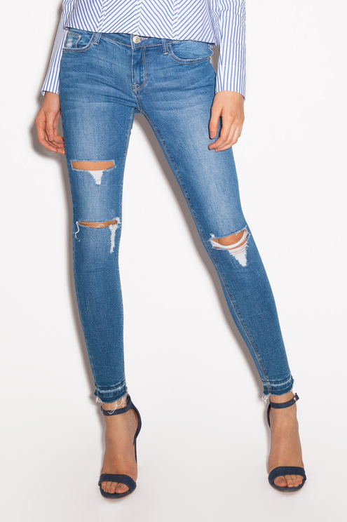 Blue Ripped Jeans