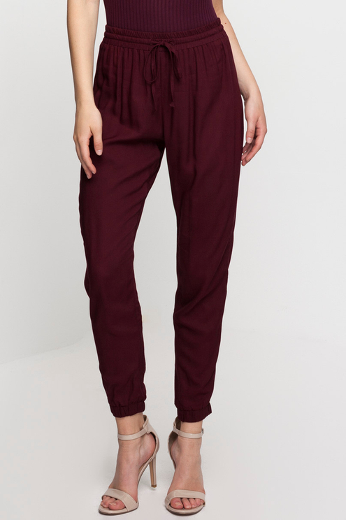 Deep Red Trousers