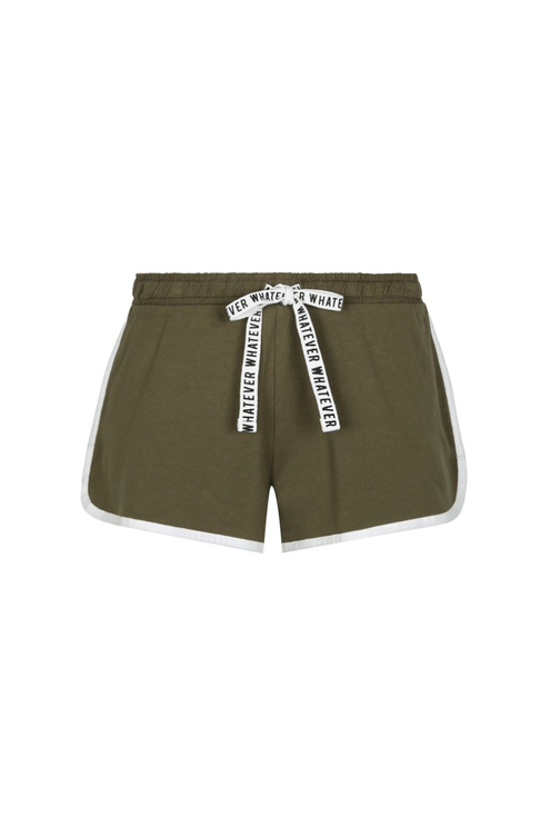 Khaki Sports Shorts