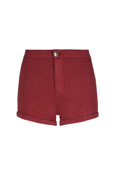 Red Mini Shorts