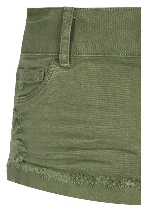 Green Low-wait Shorts