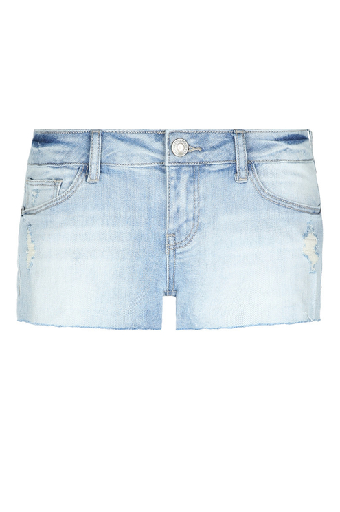 Light Wash Denim Short