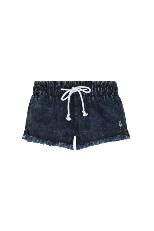 Acid Wash Mini Shorts