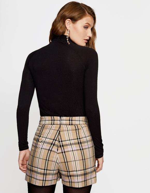 Beżowe spódnico-spodnie