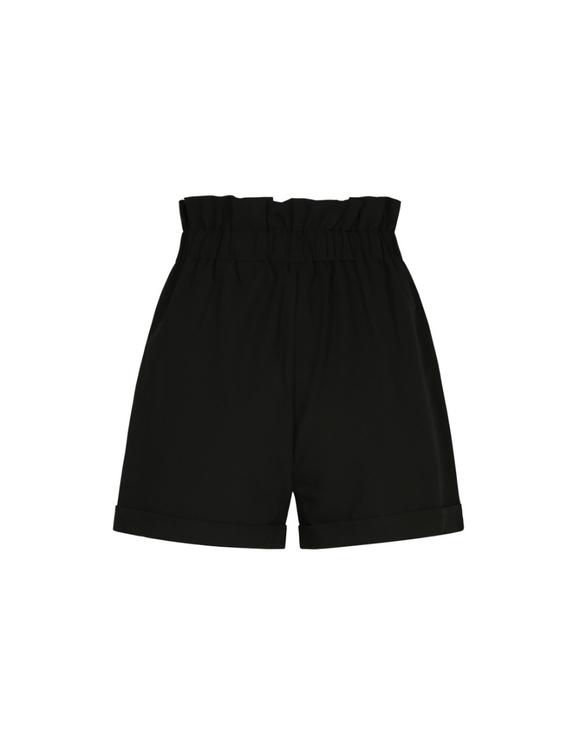 Black Short with Belt